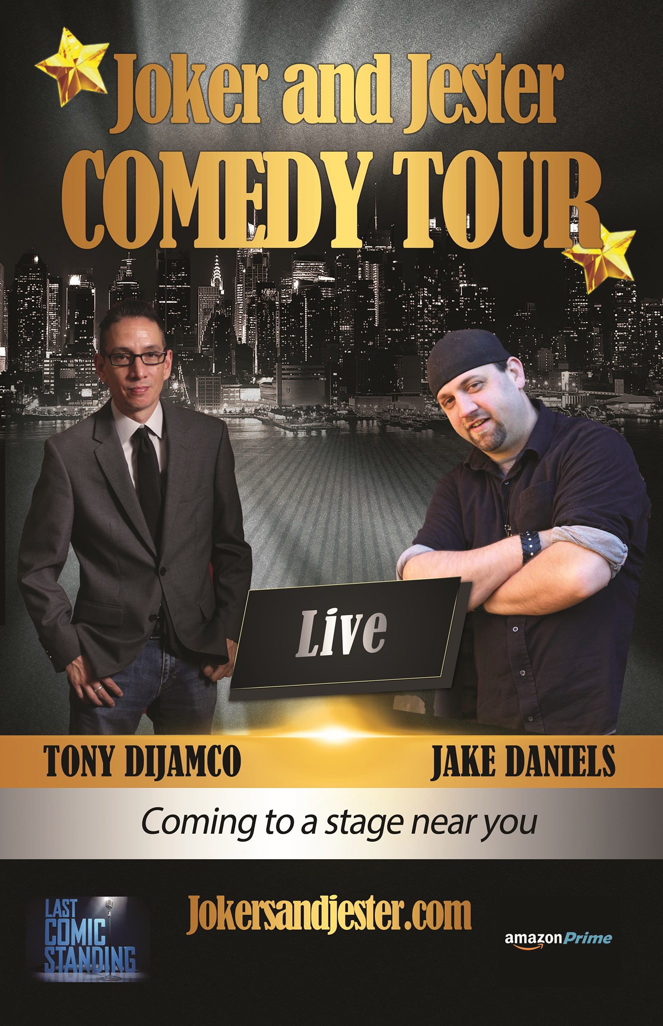 Joker and Jester Comedy Tour